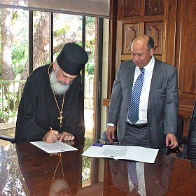 Dr. Vujisic signs Bilateral Agreement