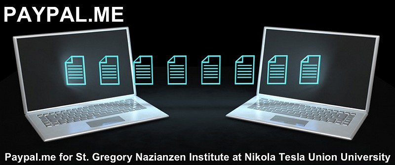 St  Gregory Nazianzen Institute for Eastern Christian Studies - PayPal
